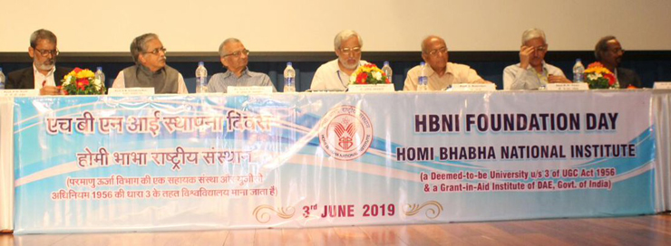 HBNI Foundation Day 2019